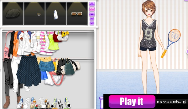 New Year's Eve Dress Up Game at girlGames4u.com - FREE ONLINE